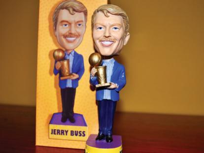 Dr Jerry Buss Bobble Head